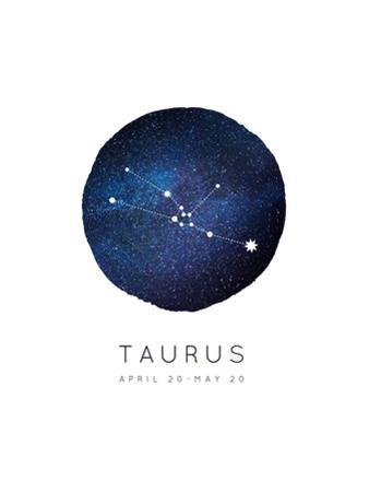 Taurus Zodiac Constellation by Rebecca Lane