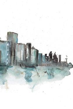 Downtown III by Rebecca Meyers
