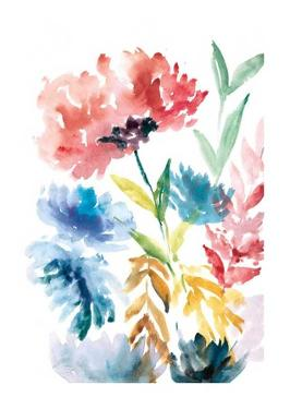 Lush Floral I by Rebecca Meyers