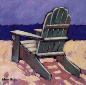 Green Chair by Rebecca Molayem