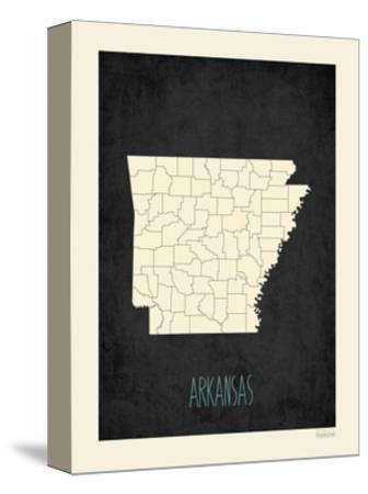 Black Map Arkansas