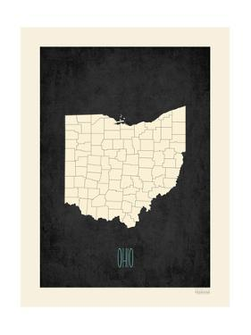 Affordable Maps Of Ohio Posters For Sale At AllPosterscom - Oversized map prints