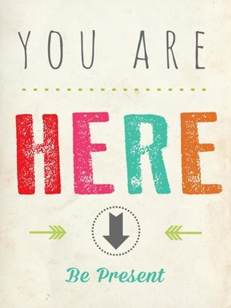 You are Here by Rebecca Peragine