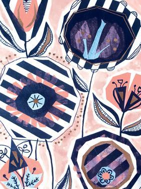 Paper Cut Flowers by Rebecca Prinn