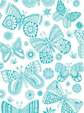 Patterned Butterflies by Rebecca Prinn