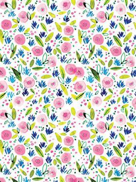 Pink Botanical by Rebecca Prinn
