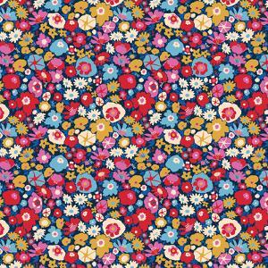 Retro Blooms by Rebecca Prinn