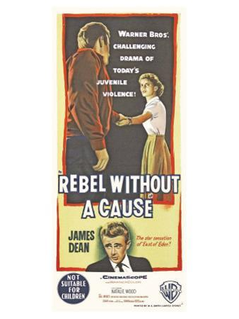 Rebel Without a Cause, Australian Movie Poster, 1955