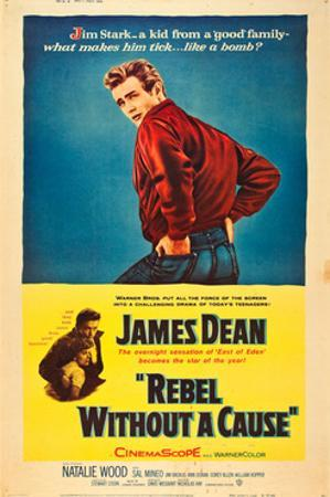 Rebel Without a Cause, James Dean with Natalie Wood, 1955