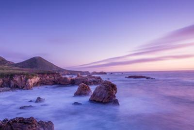 California Beach Sunset by rebelml