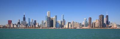 Chicago City Skyline Panoramic by rebelml