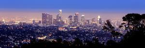 Los Angeles Skyline Panoramic by rebelml