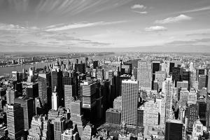 Midtown Manhattan Aerial View by rebelml