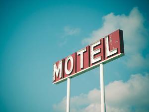 Vintage Motel IV by Recapturist