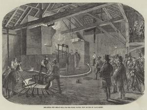 Recasting the Great Bell for the Clock Tower, New Houses of Parliament
