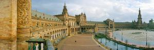 Recently Restored Palace, Plaza De Espana, Seville, Andalusia, Spain
