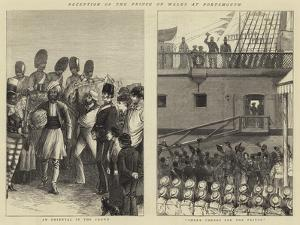 Reception of the Prince of Wales at Portsmouth