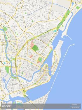 Recife, Brazil Map