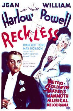 Reckless - Movie Poster Reproduction