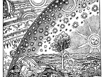 Reconstruction of a Medieval Conception of the Universe, 19th Century