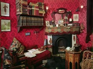 Reconstruction of Sherlock Holmes's Room at the Sherlock Holmes Pub