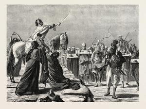 Recruiting. Egypt, 1879