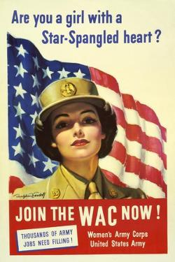 Recruiting Poster for the U.S. Women's Army Corps