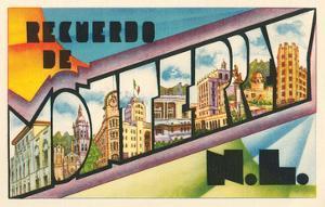 Recuerdo De Monterrey, N.L., Mexico