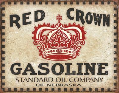 Red Crown - Checker Board