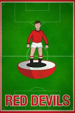 Red Devils Football Soccer Sports