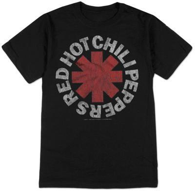 Red Hot Chili Peppers- Vintage Distressed Logo