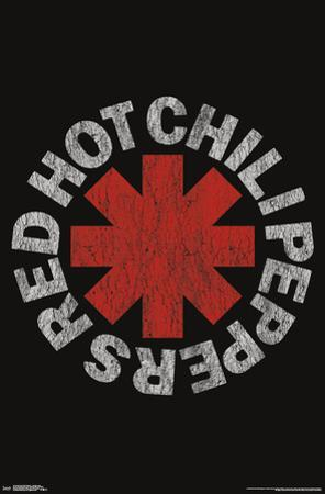 RED HOT CHILI PEPPERS - VINTAGE LOGO