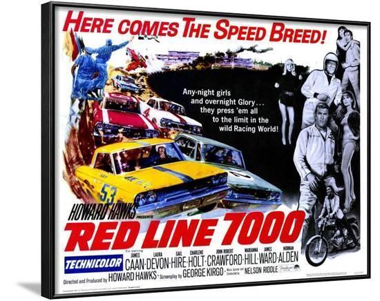 Red Line 7000 -  Style--Framed Poster