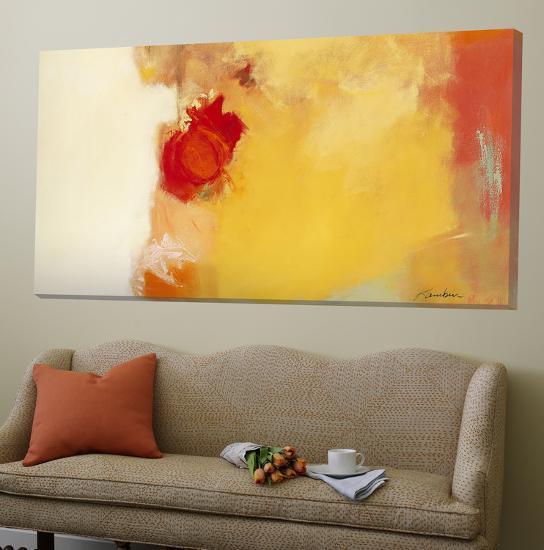 Red Note-Diane Lambin-Loft Art