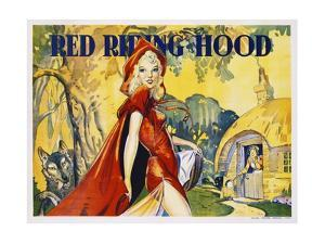 Red Riding Hood Color Print