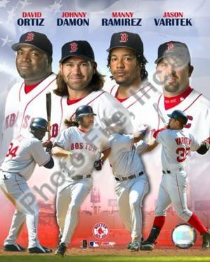 """Red Sox - 2005 """"BIG 4"""" HITTERS"""