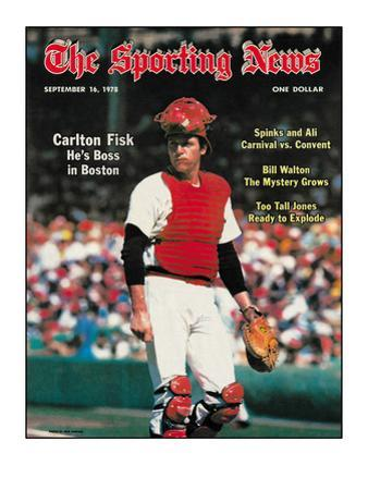 Red Sox C Carlton Fisk - September 16, 1978