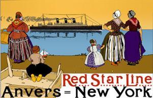 Red Star Line  Anvers- New York