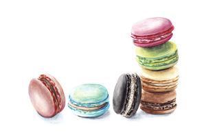 7 Macarons by Redstreake