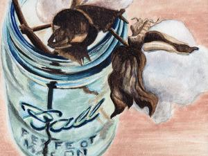 Ball Jar Flower V by Redstreake
