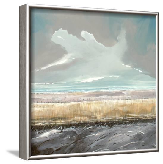 Reeds and Sky II-Stuart Roy-Framed Art Print
