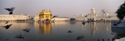 Reflection of a Temple in a Lake, Golden Temple, Amritsar, Punjab, India