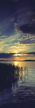 Reflection of Clouds in a Lake, Lake Saimaa, Joutseno, Finland