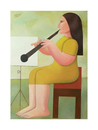 Girl with Clarinet, 1986