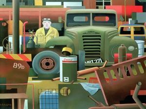 Scrap Merchant, 1983 by Reg Cartwright