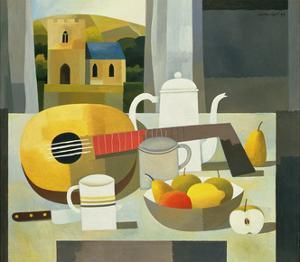 Still Life with Mandolin, 1999 by Reg Cartwright