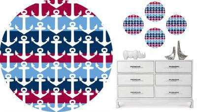 Regatta Dots Wall Decal Sticker