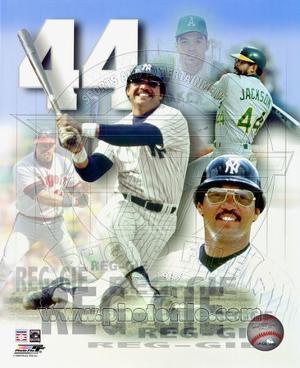 Reggie Jackson Legends Composite