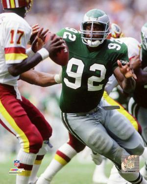 Reggie White 1988 Action
