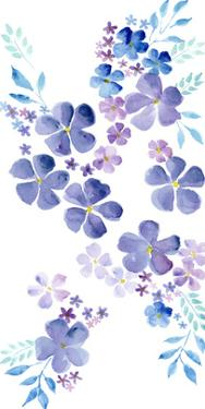 Amethystine Blooms I by Regina Moore